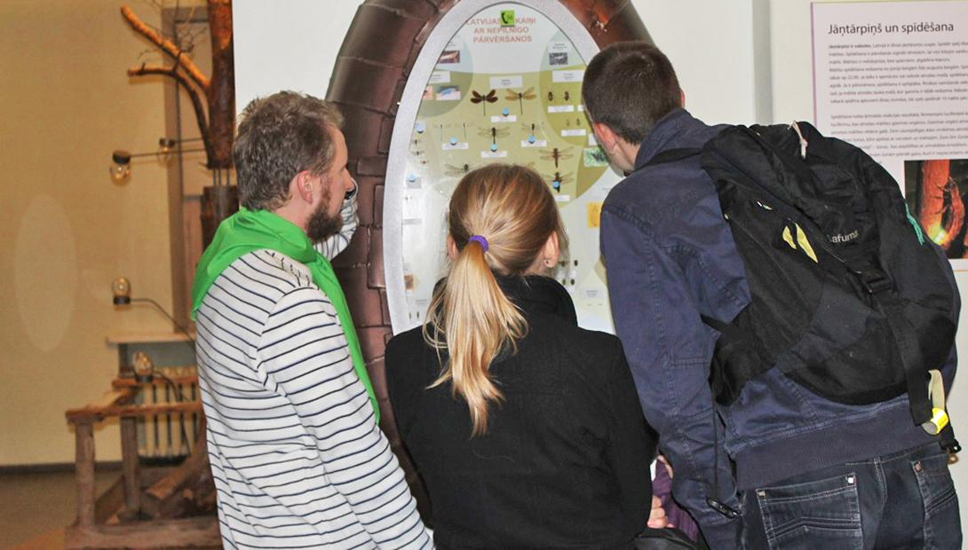 "Guided tour at the exhibition ""Entomology (The World of Insects)"""