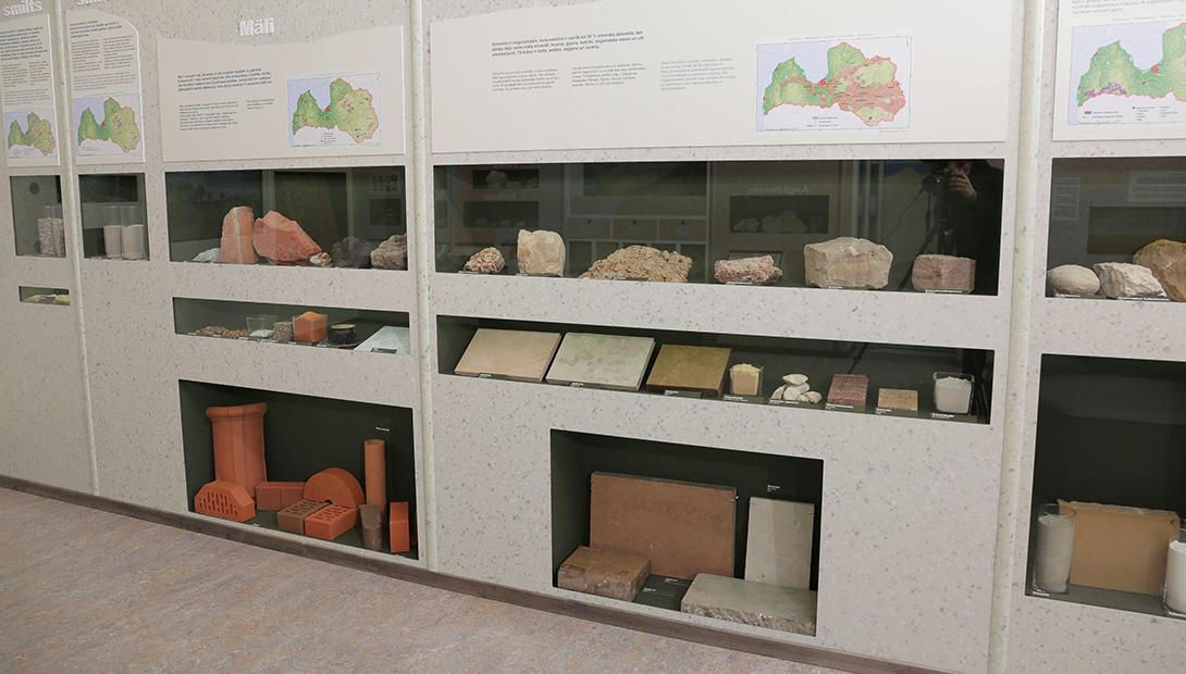 "Exhibition ""Geology of Latvia"""