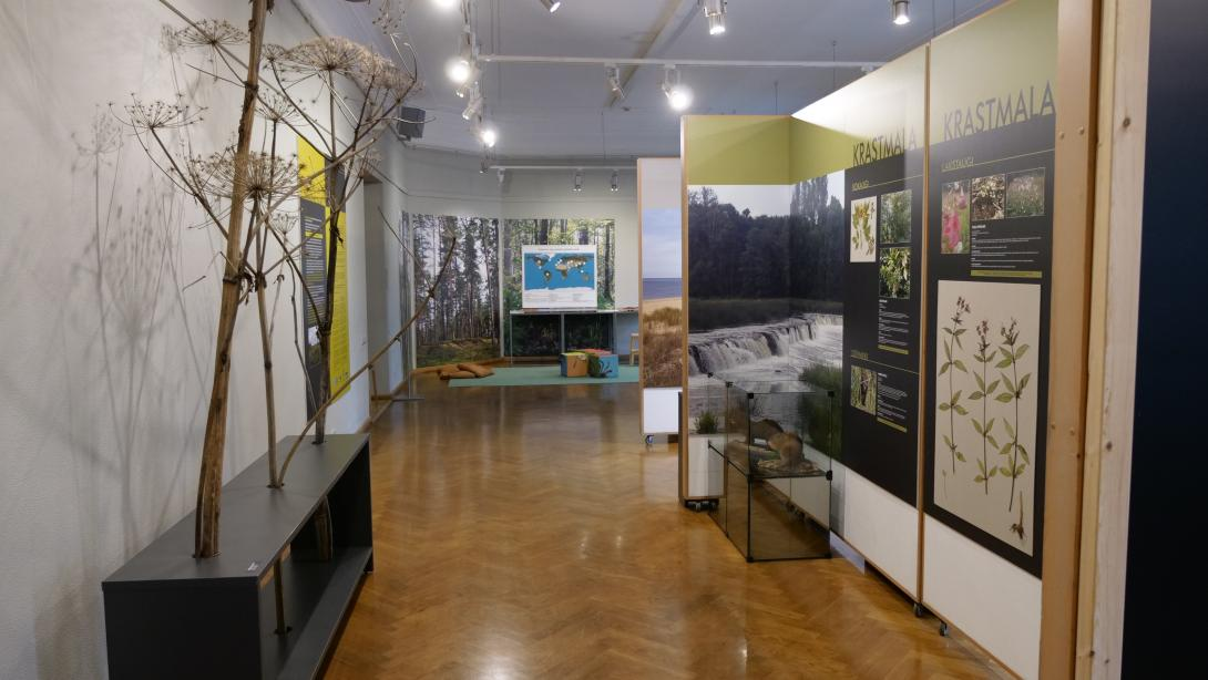 "Exhibition ""Alien Species in the Natural Environment of Latvia"""