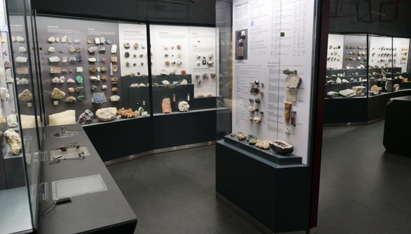 "Exhibition ""Mineralogy"""